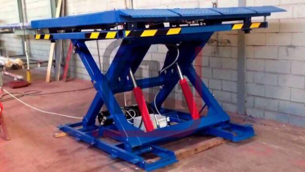 Makaslı Araç Platformu MG 7001, hidrolik makaslı araç platformu