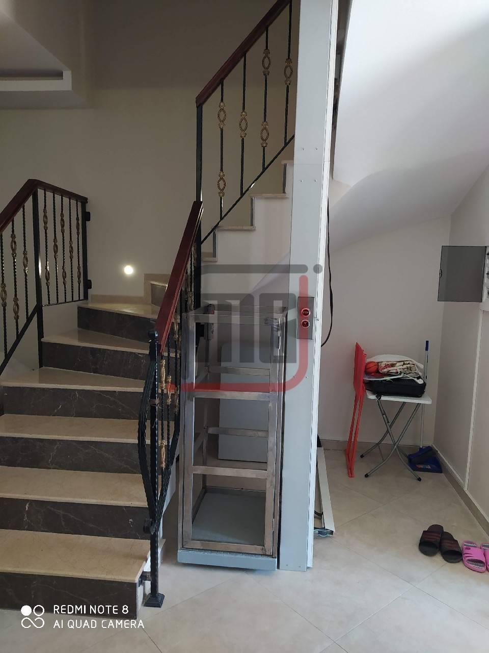 Apartmana Engelli Asansörü