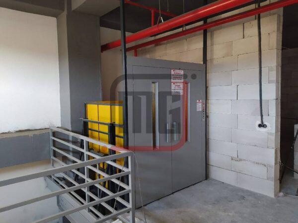 hidrolik yük asansörü, işyeri yük asansörü, 1 Ton Yük Asansörü