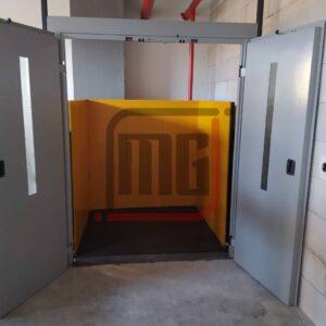 hidrolik yük asansörü, 2 ton yük asansörü