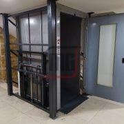 Yük Asansörü, hidrolik asansör