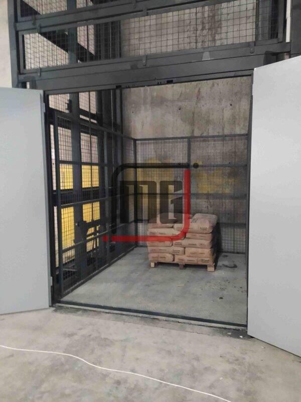 fabrika asansörü, fabrika yük asansörü, hidrolik yük platformu
